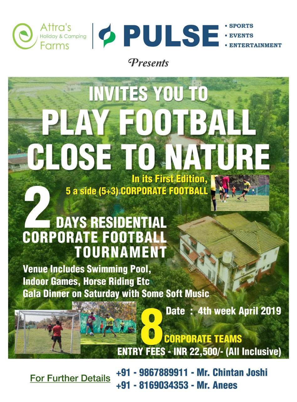 Play Football close to nature...